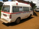 Outreach camp - ambulance